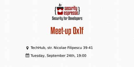 Security Espresso 0x1f tickets