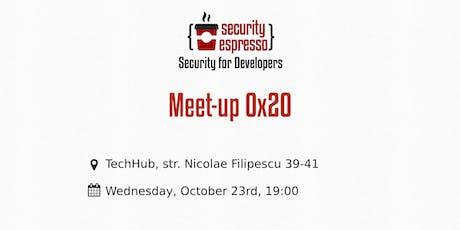 Security Espresso 0x20 tickets