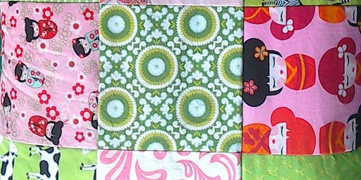 Beginners' Machine Patchwork – Square Quilt