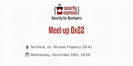 Security Espresso 0x22 tickets