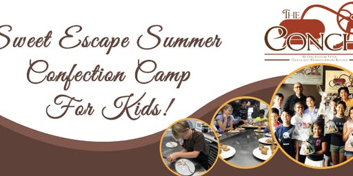 The Conche presents: Sweet Escape Summer Confection Camp for Kids