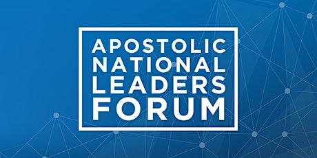 Apostolic National Leaders Forum 2020 tickets