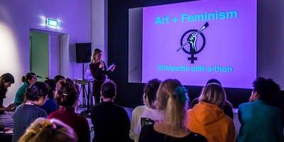 Art + Feminism Wikipedia Edit-a-thon 2019 - Eindhoven