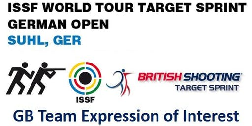 GB Team Expression of Interest-ISSF World Tour Target Sprint GERMAN OPEN