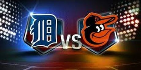 Detroit Tigers vs. Baltimore Orioles tickets
