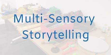 Multi-sensory Storytelling - Tuesday 18th & 25th June, 6.30-8pm tickets