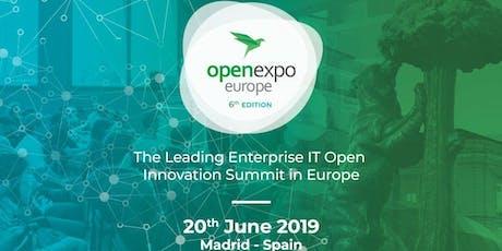 OpenExpo Europe 2019 - The Leading Enterprise IT Open Innovation Summit entradas
