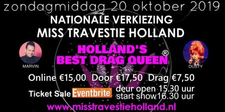 Miss Travestie Holland 2019 - Holland's Best Drag Queen tickets