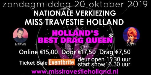 Miss Travestie Holland 2019 - Holland's Best Drag Queen