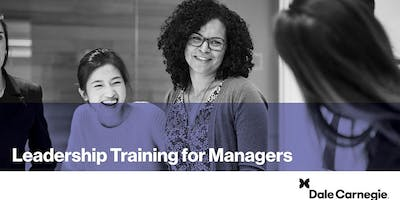 Leadership Training for Managers (Course Runs 3 Consecutive Days)