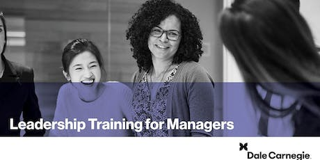 Leadership Training for Managers (Course Runs 3 Consecutive Days) tickets