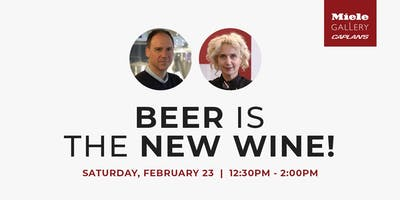 LIVE COOKING DEMO: BEER IS THE NEW WINE