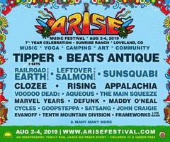 ARISE Music Festival  ///  AUG 2 - 4  ///  Sunrise Ranch, Loveland, CO