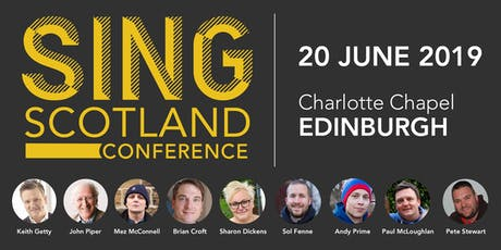 Sing Scotland Conference tickets
