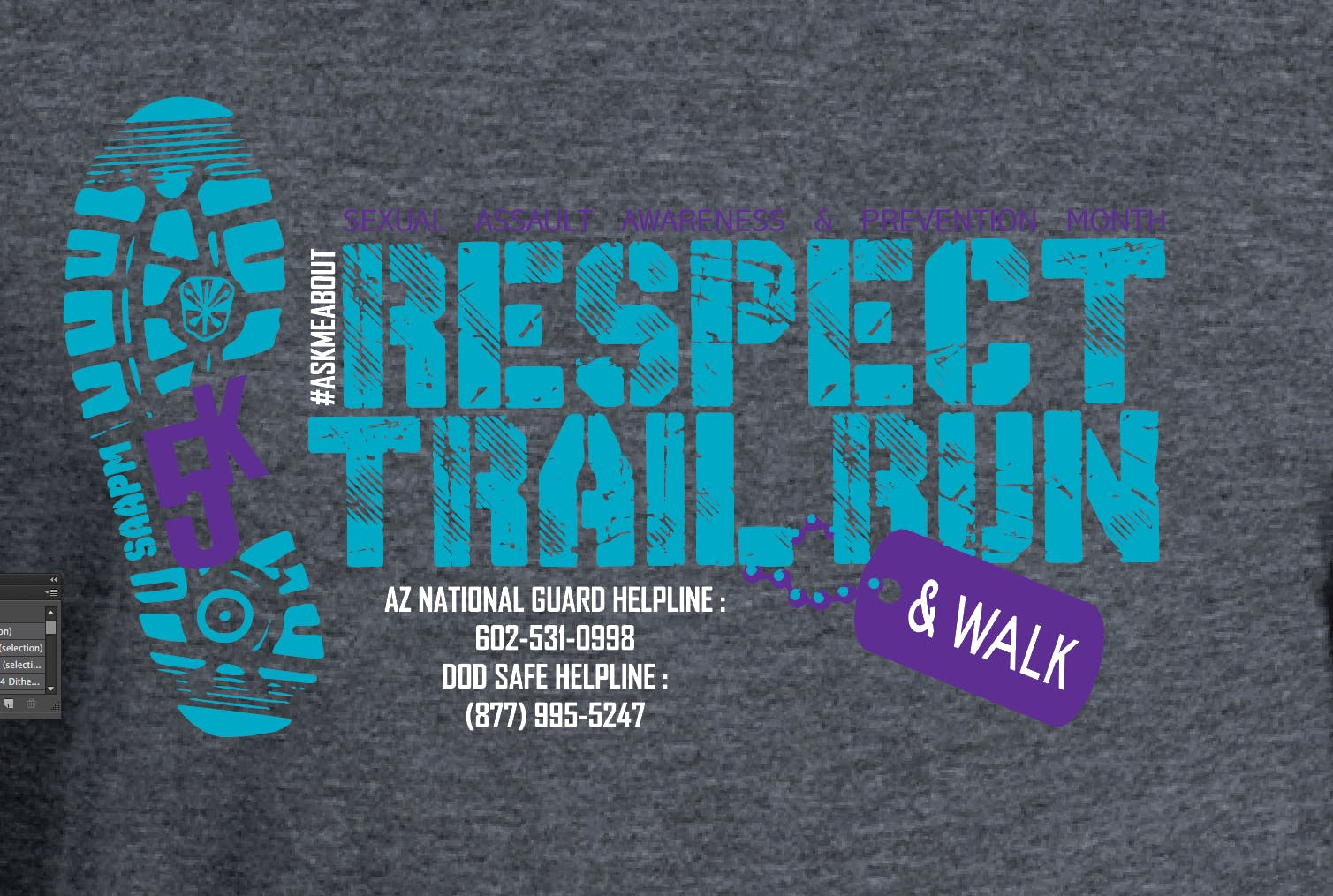 5th Annual SAAPM 5K Respect Trail Run & Walk