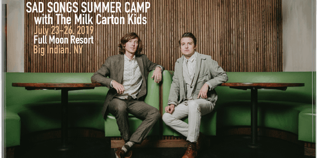 The Milk Carton Kids' Sad Songs Summer Camp tickets