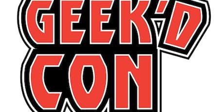 GEEK'D CON: Shreveport 2019 tickets