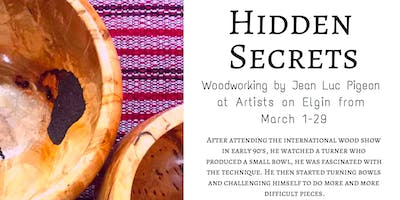 Hidden Secrets at Artists on Elgin by Jean Luc Pigeon