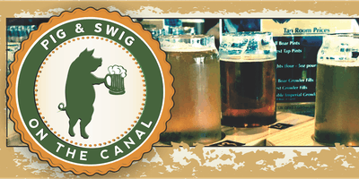 Pig & Swig on the Canal