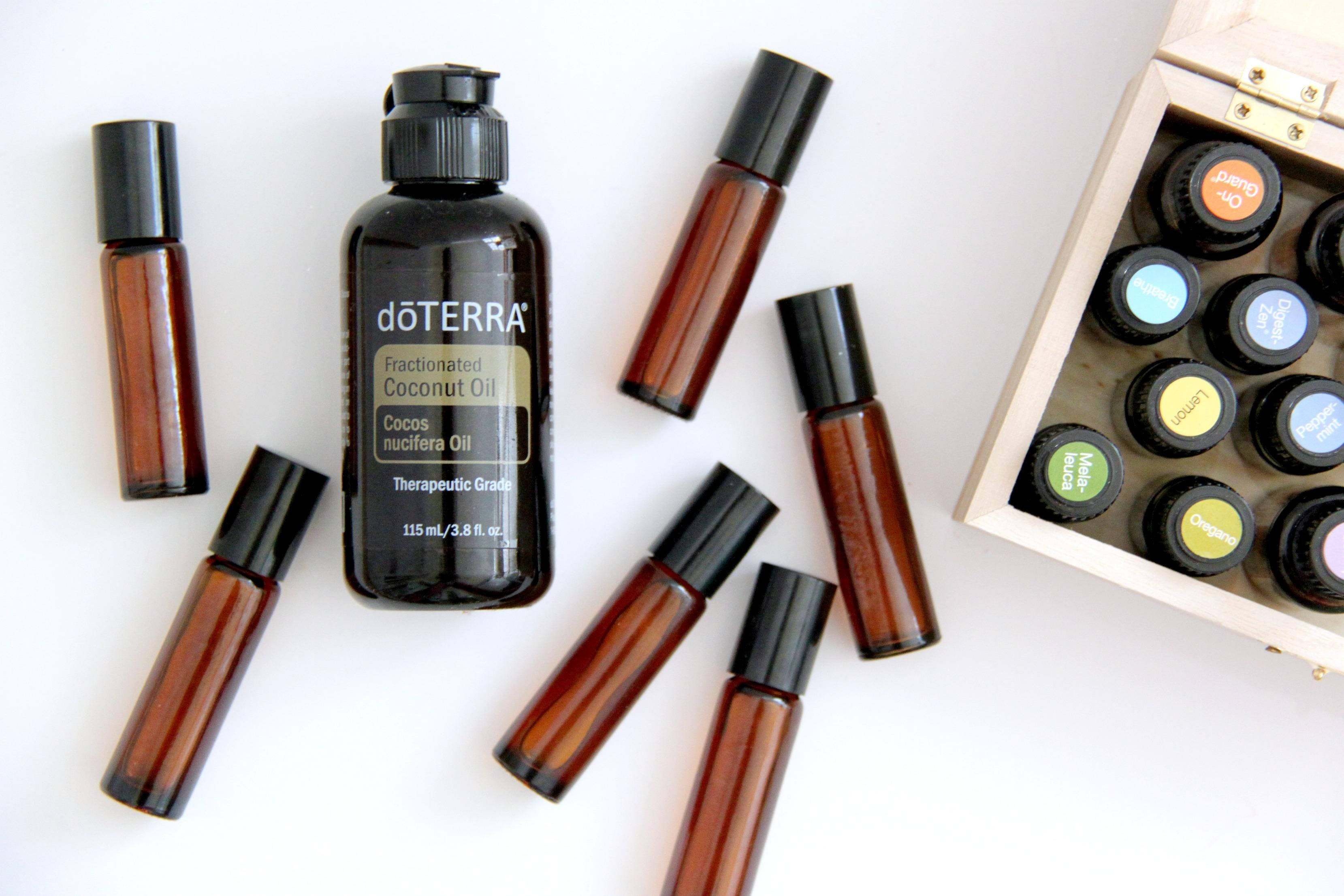 Essential Oil Basics Rollerball Make & Take