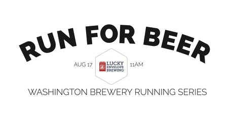 Beer Run - Lucky Envelope Brewing - Part of the 2019 WA Brewery Running Series tickets