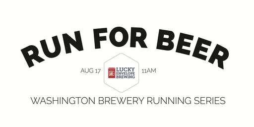 Beer Run - Lucky Envelope Brewing - Part of the 2019 WA Brewery Running Series