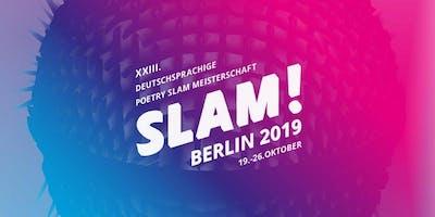 Teamfinale / SLAM 2019 – Die deutschsprachigen Meisterschaften im Poetry Slam