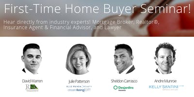 First-Time Home Buyer Seminar!