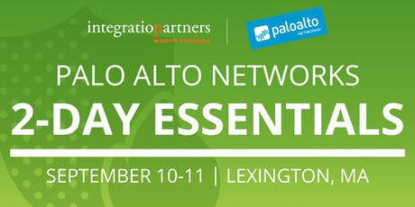Palo Alto Networks 2-Day Essentials Class | Lexington, MA tickets