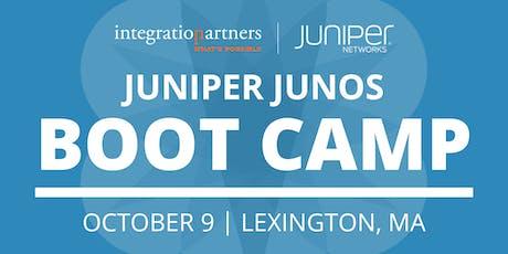 Juniper Networks JUNOS Bootcamp | Lexington, MA tickets