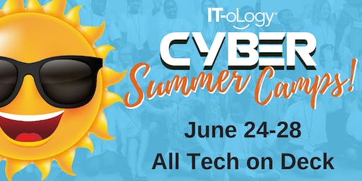 June 24-28: All Tech on Deck – Elementary School: 3rd – 5th Grade