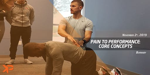 Pain to Performance: Core Concepts (Burnaby)