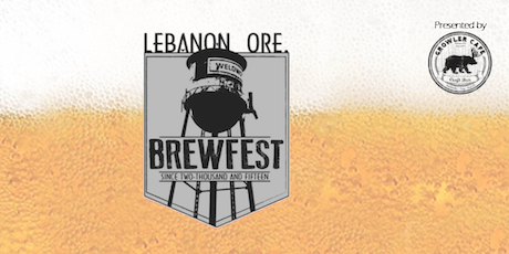 5th Annual Lebanon Brewfest - Presented by Growler Cafe tickets