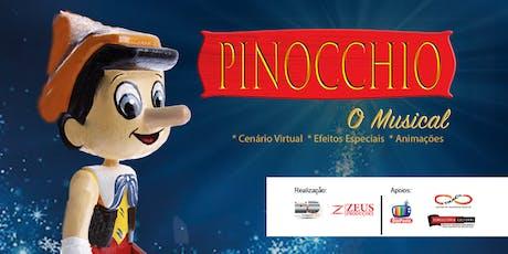 """50% de Desconto! """"Pinocchio, O Musical"""" no Teatro Dr Botica ingressos"""