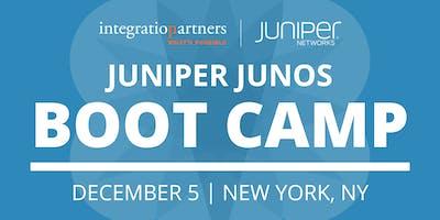 Juniper Networks JUNOS Bootcamp   New York, NY