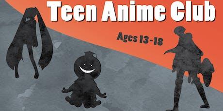 Teen Anime Club tickets