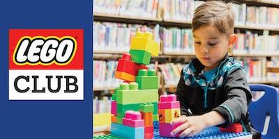 Lego Club (Kids ages 5-12)