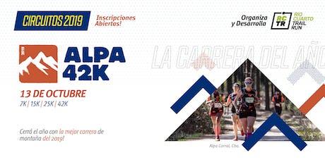 Alpa 42K entradas