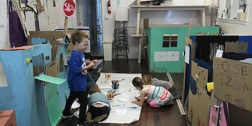 Art Fort Building Week