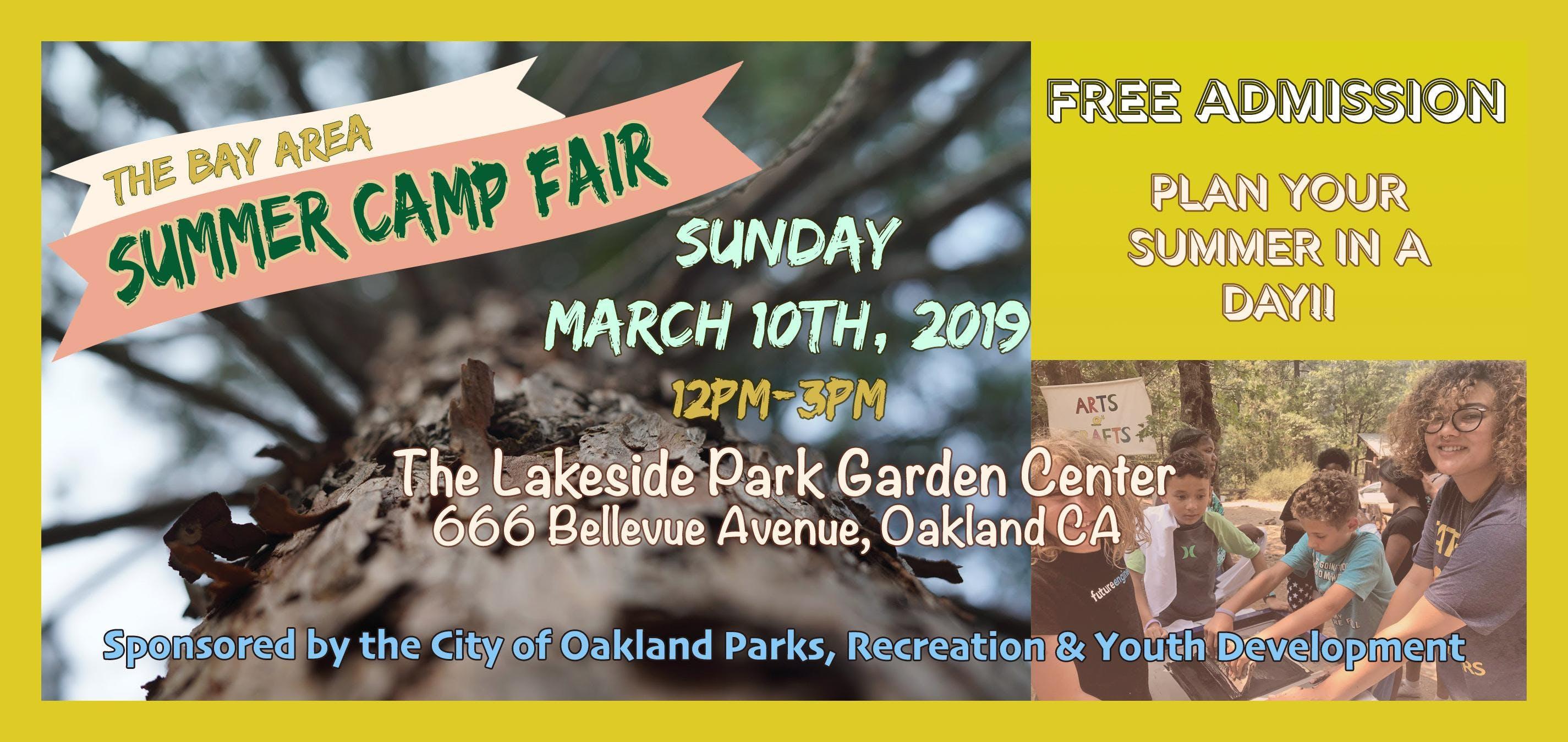 The Bay Area Summer Camp Fair 2019