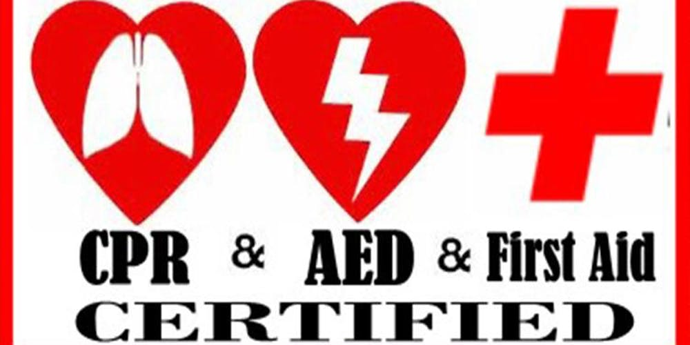 Ashi Cprfirst Aid Combination Course Tickets Tue Mar 19 2019 At