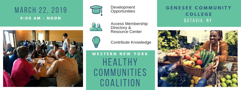 WNY Healthy Communities Coalition March Meeting