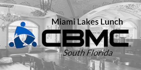 CBMC Miami Lakes Lunch tickets
