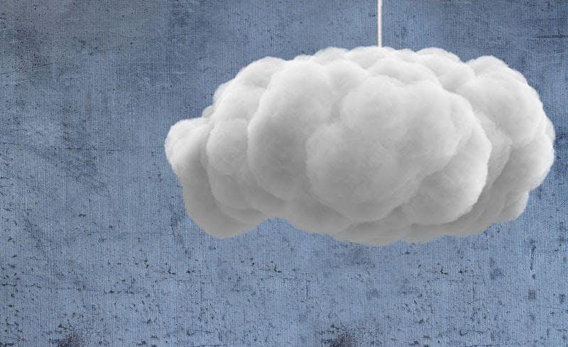 Taller: Realiza una lámpara con forma de nube
