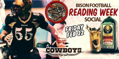 Bison Football - Reading Week Party!