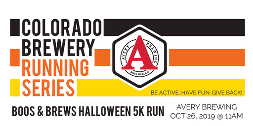 Boos & Brews Halloween 5k - Avery Brewing - Colorado Brewery Running Series