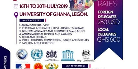 International Youth Diplomacy Conference (IYDC) 2019 tickets