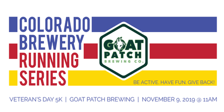 Veteran's Day 5k - Goat Patch Brewing - Colorado Brewery Running Series tickets