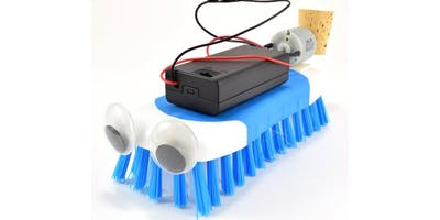 Tween Gadget Inventors- Spring cleaning BrushBots
