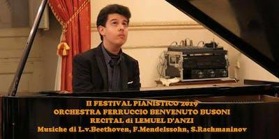 II FESTIVAL PIANISTICO 2019 - Recital di Lemuel D' Anzi